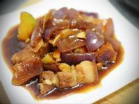 南瓜燉肉~超簡單、超快速、超下飯料理