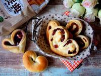 愛心造型麵包【麥典麵包專用粉】
