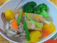 ㄚ曼達的廚房~金瓜粿仔湯