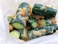 日式味噌小黃瓜