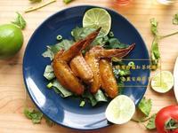 [蜂蜜檸檬紅茶烤雞翅]烤肉料理