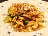 菠菜蘑菇🍄義大利麵🍝