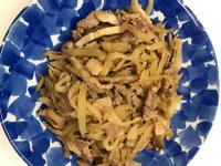 お弁当-170925-榨菜肉絲