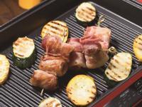 【摩堤 鑄鐵鍋料理】碳烤培根干貝捲