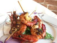 香草黑胡椒烤鮮蝦