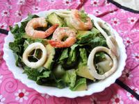 鮮蝦酪梨沙拉 Shrimp and Avocado Salad