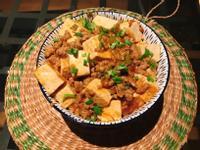麻婆嫩豆腐 Mapo tofu