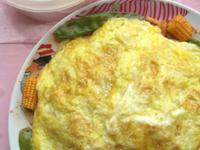 【十分輕鬆料理DIY】蛋包培根玉米筍蕃茄肉醬義大利麵