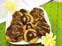 大理石雙色餅乾