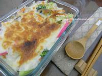 十分輕鬆料理DIY-野菇燻雞焗飯