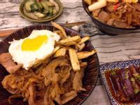 10分鐘上菜 日式松阪豬蓋飯