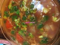番茄蔬菜湯_收假清腸胃