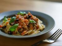 番茄鮪魚義大利麵