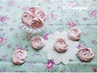 草莓蛋白糖霜脆餅 Meringue