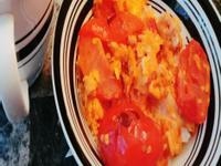 蕃茄炒蛋蓋飯