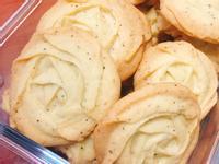 簡易好吃花紋路明顯的玫瑰餅乾~