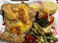 義式香料烤蔬菜雞腿排(晶工烤箱30L)