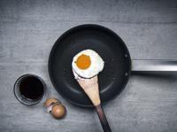 醬油煎荷包蛋