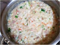 寶寶副食品-滑蛋牛肉粥