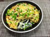 高麗菜烘蛋 (水波爐料理)