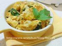 珊瑚菇炒蛋