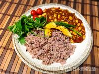 黃豆奇瑪咖哩配雜穀飯