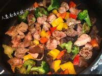 香煎蒙特羅雞腿肉佐鮮蔬