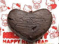 低碳無粉巧克力蛋糕