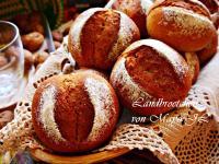 德國 黑麥酸麵糰農家小麵包