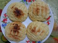 菠蘿綠豆沙麵包(傳統甜麵包做法)