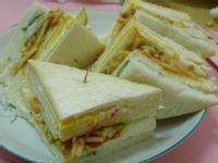 [十分輕鬆料理DIY]蕃茄肉醬義麵總匯三明治