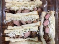 高麗菜絲豬排三明治