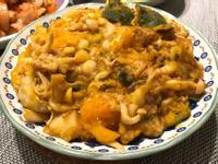 [一人開飯]南瓜馬鈴薯燉菇
