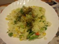 十分輕鬆料理DIY之蝦仁佐四季豆蛋炒飯