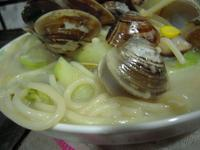 十分輕鬆料理DIY-大份量絲瓜蛤蜊焗麵