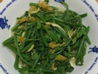 鳳梨醬炒龍鬚菜