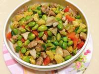 快速出好菜-毛豆仁炒豬肉佐黑胡椒