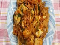 居酒屋必吃~韓式辣椒醬豬肉~家常版
