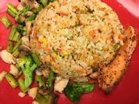 鮭魚玉米小飯糰【無負擔料理】