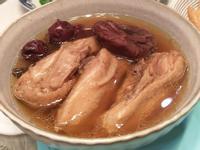 柿乾老菜脯雞湯