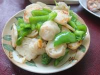 花枝丸片炒青椒