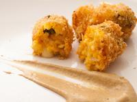 【吉刻美食】南瓜乳酪炸米球