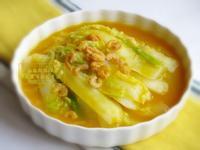 [南瓜開陽白菜]簡易家常菜
