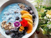 暖心暖胃的熱麥片 ~ 漾藍水果燕麥碗