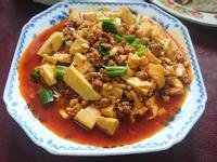 肉醬蛋豆腐
