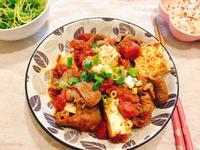 在家吃飯-番茄牛肉燒豆腐