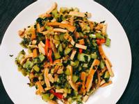 雪菜豆乾肉絲 家常菜