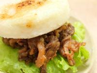 【厚生廚房】薑汁燒肉米漢堡