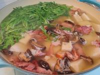臘雞腿蘿蔔糕湯