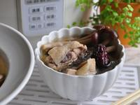柳松菇紅棗燉雞湯